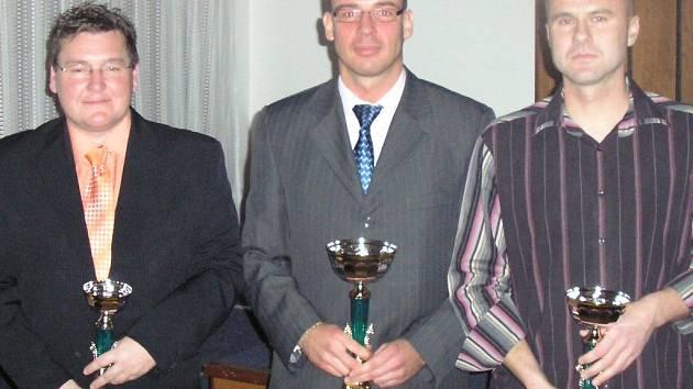 Zdeněk Hašek (vlevo) a Petr Hlaváč (v pravo) se vrátili k vedení SK Kladno.
