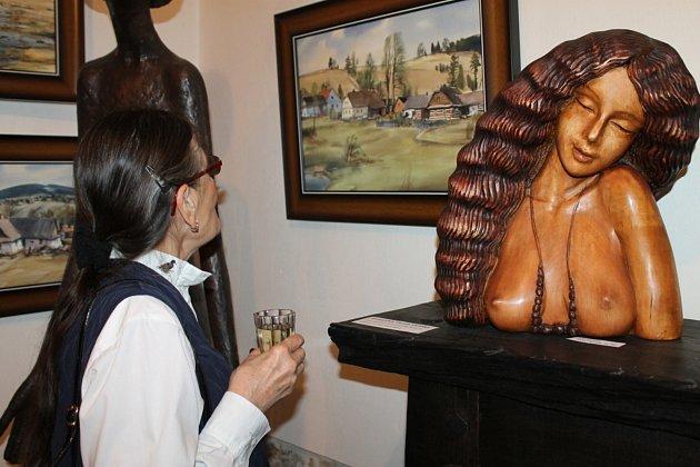 Krajinář z Vysočiny maluje a vystavuje ve Slaném.
