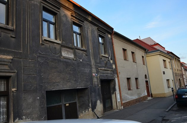 5. zastavení – Soukenická ulice č.p. 68.Vtomto domě se narodil Karel Alois Vinařický.