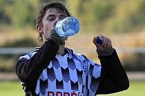 Hřebeč - Dobříš 0:2 (0:0), utkání I.A, tř. 2011/12 , hráno 15.10.2011