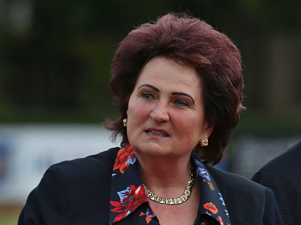 Kladno hází 2019 / Atletický meeting Kladno 13. 7. 2019. Helena Fibingerová