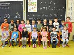 Třída I. C ze Základní školy ve Slaném Na Hájích.