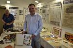 V prostorách Dobešky můžete ve Slaném navštívit do středy 26. června výstavu ke 100. výročí vzniku továrny Palaba.