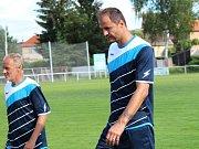 90. let fotbalu v AFK Tuchlovice. Vratislav Lokvenc