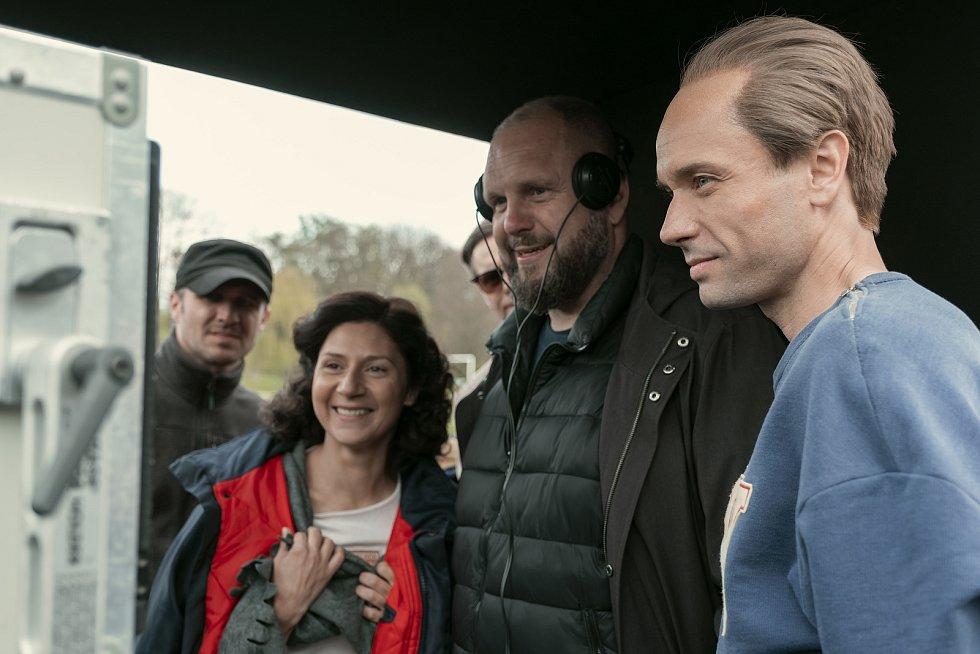 Snímky z první části letošního natáčení filmu Zátopek.