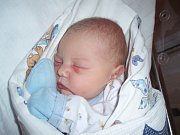Tobiáš Charvát, Slaný. Narodil se 29. října 2012. Váha 3,78 kg, míra 51 cm. Rodiče jsou Věra Holečková a Daniel Charvát (porodnice Slaný).