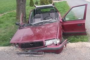 Tragická dopravní havárie v pondělí dopoledne ve Studeněvsi