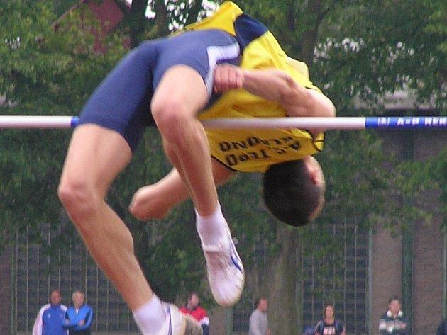 Luboš Benko získal pro Kladno body za třetí místo.