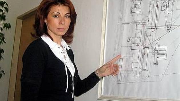 Podobně jako o Davida Ratha má protikorupční policie zájem o ředitelku Oblastní nemocnice Kladno Kateřinu Pancovou.
