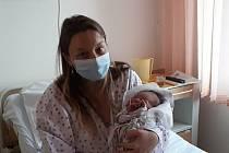 První Kladeňačka Ivetka s maminkou Karolínou Demeterovou.