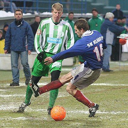 SK Kladno - Bohemians Praha 1 : 0 ( 1 : O ), 17 kolo Gambrinus ligy 2OO8/9 hrané 22.2.09