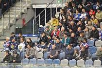Na duel Kladna s Českými Budějovicemi přišly do Chomutova téměř tři tisíce fanoušků.
