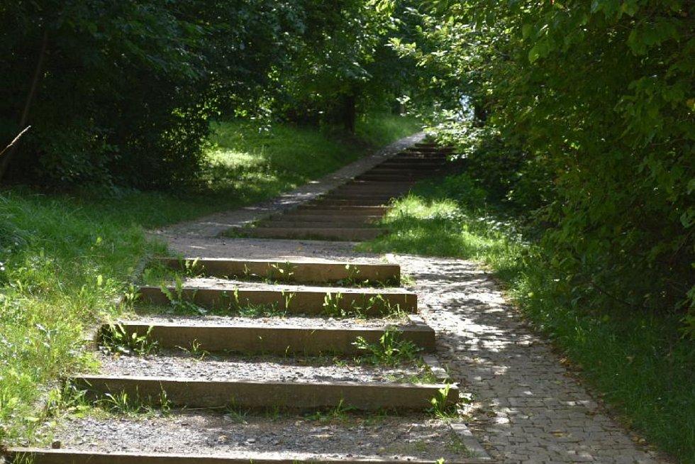 .Sítenské údolí v srpnu 2017.