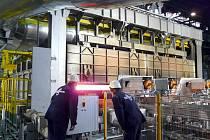 Ve válcovnách v Kladně na Dříni nyní pracuje více než 600 zaměstnanců.