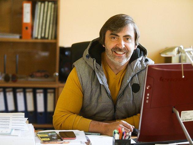Ředitel dětského domova Ledce Roman Pejša.