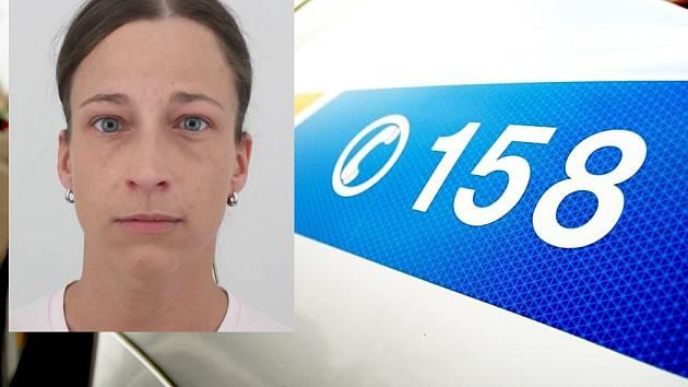 Květa Hamšíková na fotografii z policejní databáze.