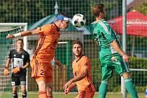 Sokol Hostouň - FK Mladá Boleslava 0:1 (0:1), MOL CUP (2. kolo) 16. 9. 2020