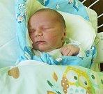 DAVID OPLT, KLADNO. Narodil se 14. června 2017. Váha 3,07 kg, výška 50 cm. Rodiče jsou Lenka Opltová a Lukáš Oplt (porodnice Kladno).