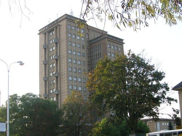 Věžové domy v Rozdělově.
