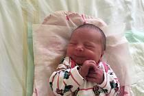 VIKTORIE MÁLKOVÁ, KLADNO. Narodila se 28. srpna 2019. Po porodu vážila 2,89 kg a měřil 46 cm. Rodiče jsou Štěpánka Kločková a Jakub Málek. (porodnice Kladno)