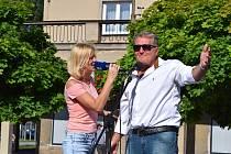 Publiku se představil František Kasl, Klára Kolomazníková i Marcel Zmožek. Foto: Štěpánka Jarošová