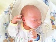 MATĚJ KREJZA, SLANÝ. Narodil se 3. dubna 2018. Po porodu vážil 3,35 kg a měřil 50 cm. Rodiče jsou Michaela a Martin Krejzovi. (porodnice Slaný)
