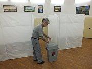 Volilo se i ve Věznici Vinařice. Foto: Ivan Suchý
