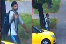 Kladenským policistům se podařilo získat z městského kamerového systému fotografii pomateného muže.