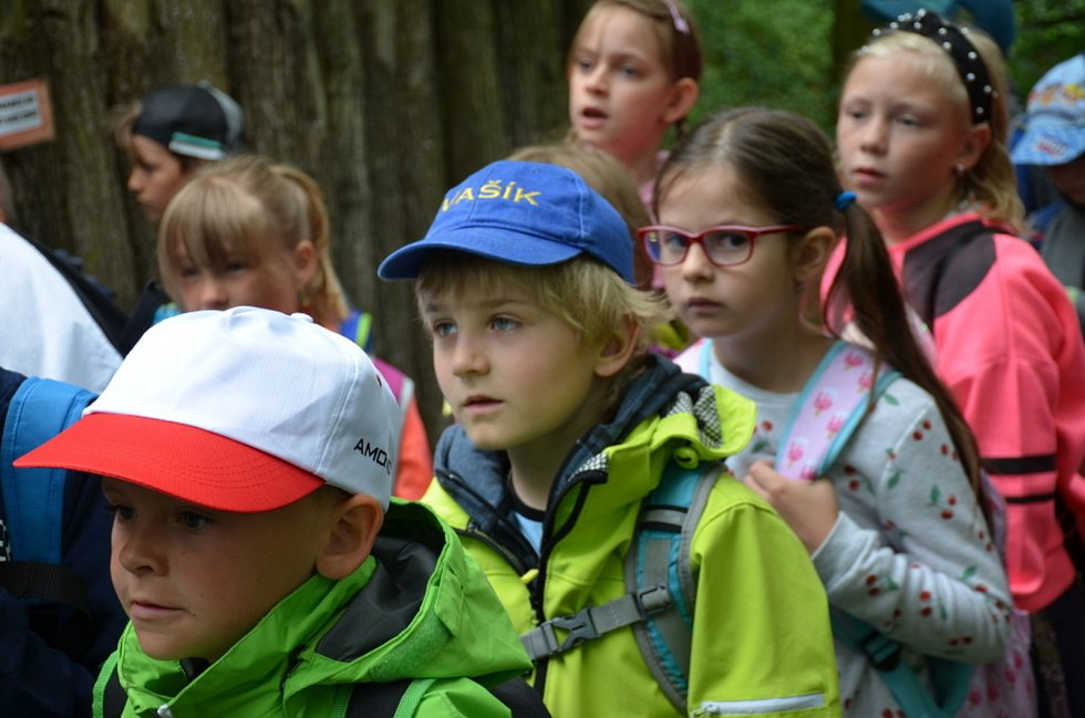 Žáci ze Základní školy v Jiráskově ulici v Kladně-Švermově na exkurzi v Avesu.