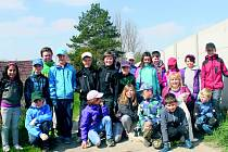 Kolektiv třídy pod vedením učitelky Věry Borovcové