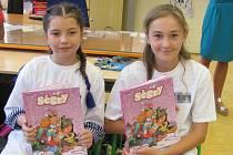 Odměněni byli žáci 5. A.