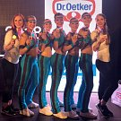 Sport Academy Kladno: bronzové dívky v aerobik performance se sestavou Hra o trůny