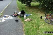 Opilý cyklista měl v dechu přes dvě promile alkoholu.