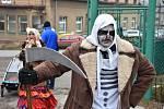 Mayrovka se maskami jen hemžila, o zábavu bylo postaráno.