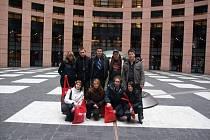 Studenti kladenské 1.KŠPA vyhráli soutěž a jeli navštívit evropský parlament.
