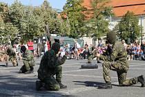 Týden s armádou. Slaný 10. - 16. září 2012