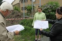 Obyvatelé kladenského Siedlungu stavbu, která převýší jejich domy odmítají