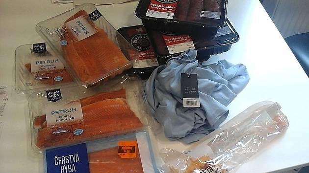 Nakradené maso za tisíce korun.