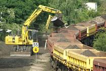Rekonstrukce vlakové trati v Kladně.