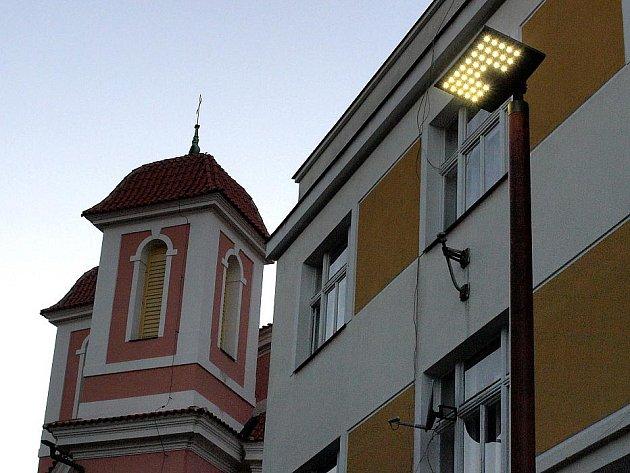 Kladno se zařadilo na seznam měst, jejichž ulice jsou osvětleny na bázi LED technologie.