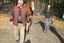 Služební koně rušeného jízdního oddílu Městské policie Kladno byli oficiálně darováni ředitelem Stanislavem Procházkou a  jeho zástupcem Jaroslavem Rosenkrancem do rukou provozovatelů stáje na Sletišti Josefu Královi a Kateřině Chloupkové.