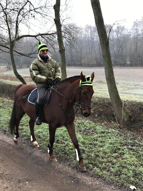 Jiří Hanč je denně v sedle. Provozuje jezdeckou stáj v Beřovicích, hory ale miluje stejně jako jeho předkové.