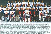 Tým Poldi Kladno z roku 1994. Slavné mužstvo, které ale na titul nedosáhlo.
