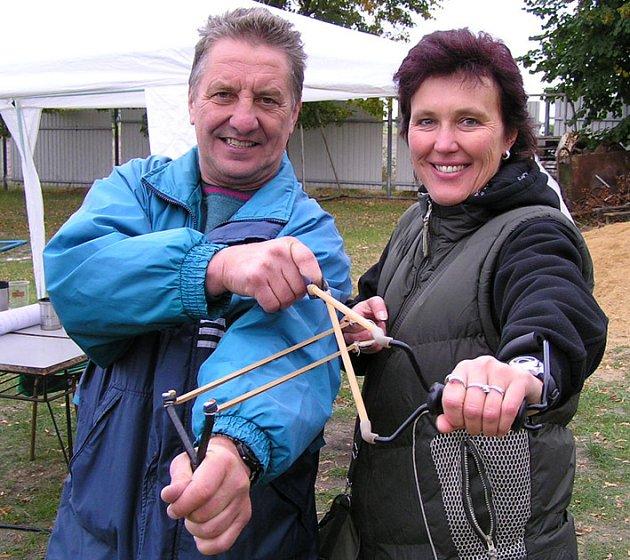 To jsou oni šampioni! František Korynta a Ilona Hermanová.
