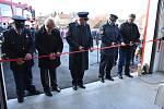 Při slavnostním otevření zbrojnice byla představena také nová Tatra Terrno. Foto: Jiří Skála