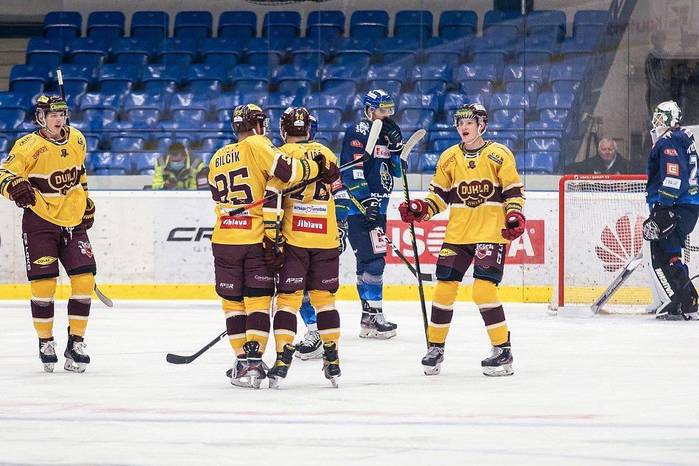 Šlágr hokejové Chance ligy Kladno - Jihlava okořenil návrat Jaromíra Jágra na led.