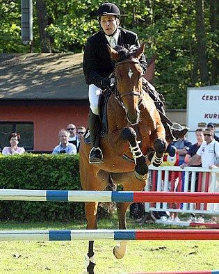 Michal Michalík přišel o vítězství v SP při jízdě na neposlušném koni.