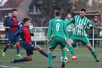Sokol Hostouň - FK Baník Souš 2:1 (1:0) Pen: 10:9, Divize B, 13. 10. 2016