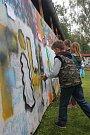 K vidění byla především spousta graffiti.