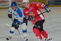 Jiří Scherzl (vlevo) dal jediný gól Řisut